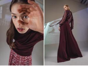 Roberti Scichilone Progetto 2019 DES_PHEMMES Lookbook Commercial Mia Brammer Anna Elizabeth Villemoes Fashion Immagine 1