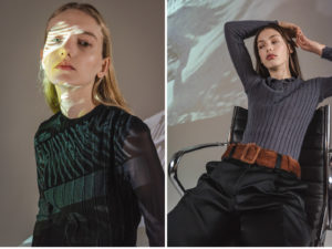 Roberti Scichilone Progetto 2019 DES_PHEMMES Lookbook Commercial Mia Brammer Anna Elizabeth Villemoes Fashion Immagine 2