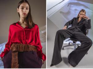 Roberti Scichilone Progetto 2019 DES_PHEMMES Lookbook Commercial Mia Brammer Anna Elizabeth Villemoes Fashion Immagine 8